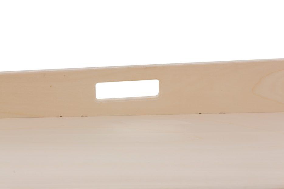 opbaarplank draagbaar dienstbaar close up handvat
