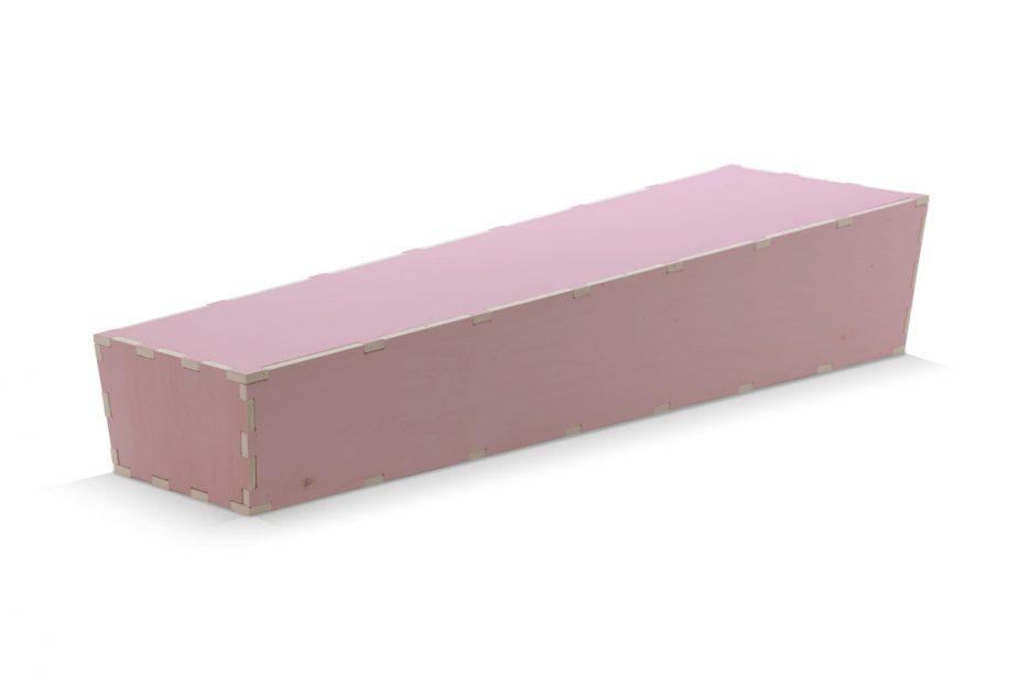 Uitvaartkist doodskist roze Beerenberg
