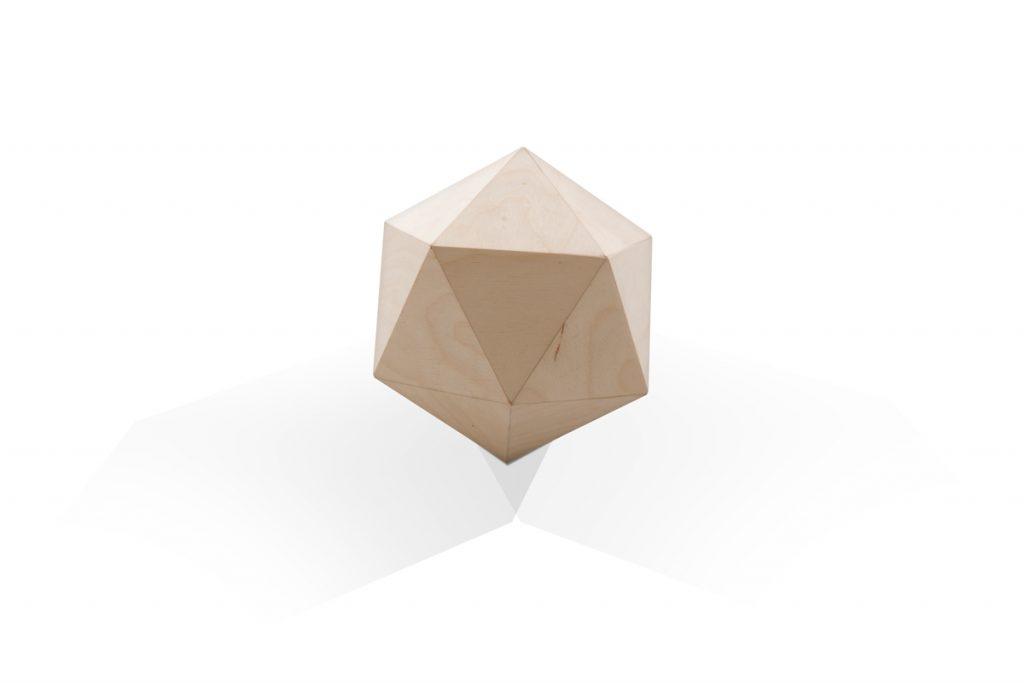 urn polygoon hout veelhoek persoonlijk