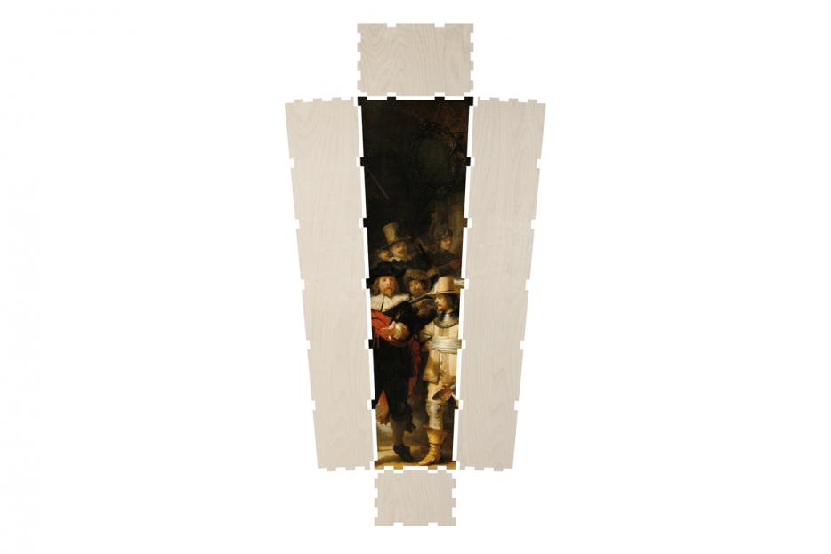 Uitvaartkist doodskist nachtwacht Beerenberg layout
