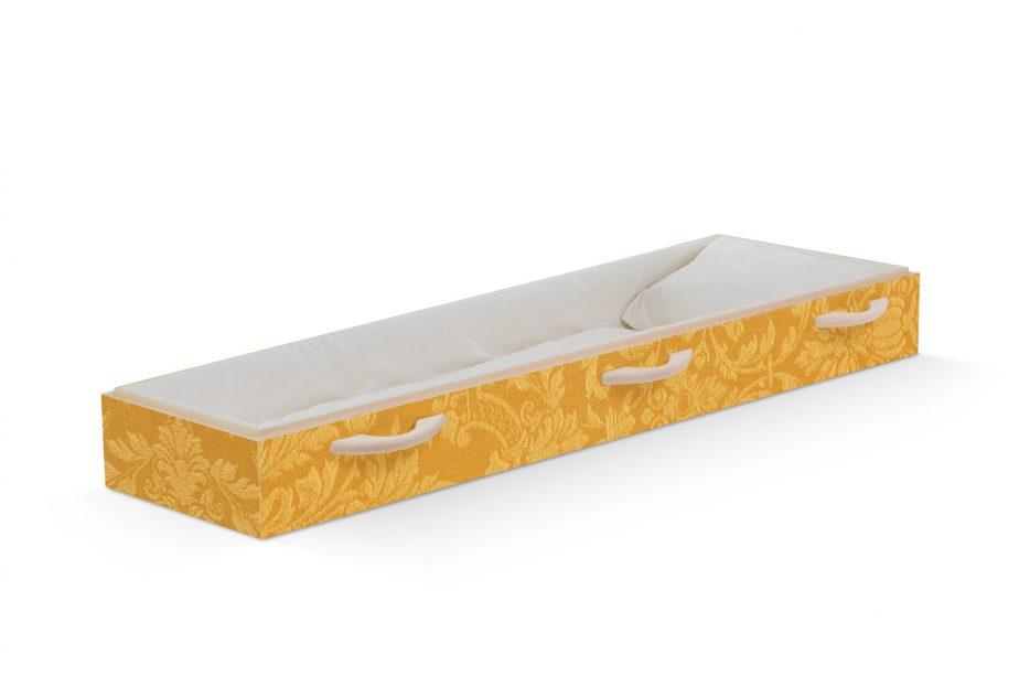 Uitvaartkist doodskist ornamenten goud open