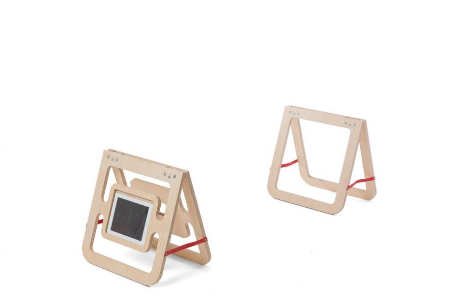 kistschragen kistbokjes beeld en geluid met ipad en box 2