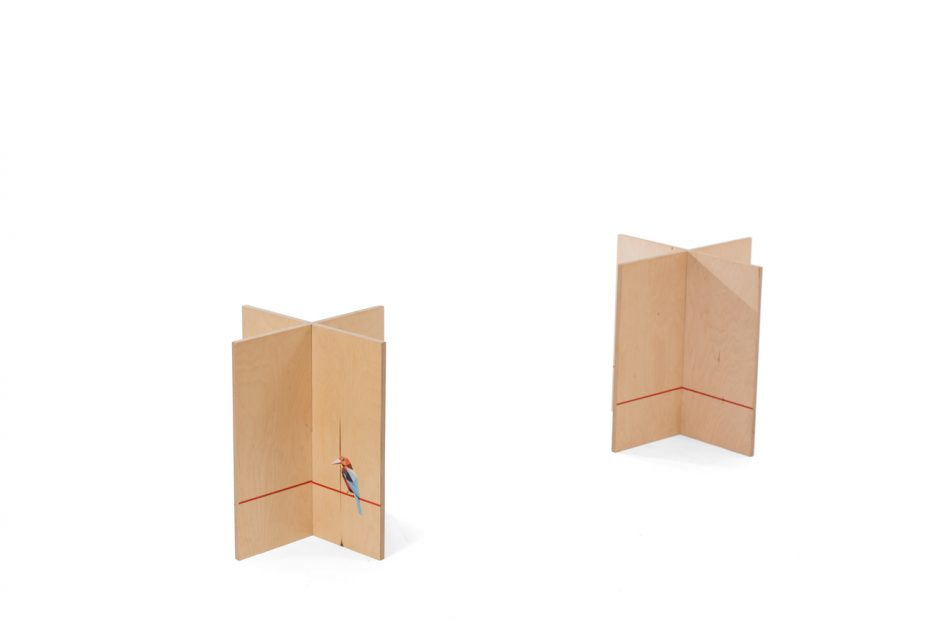 kistschragen kistbokjes print hout ijsvogel persoonlijk