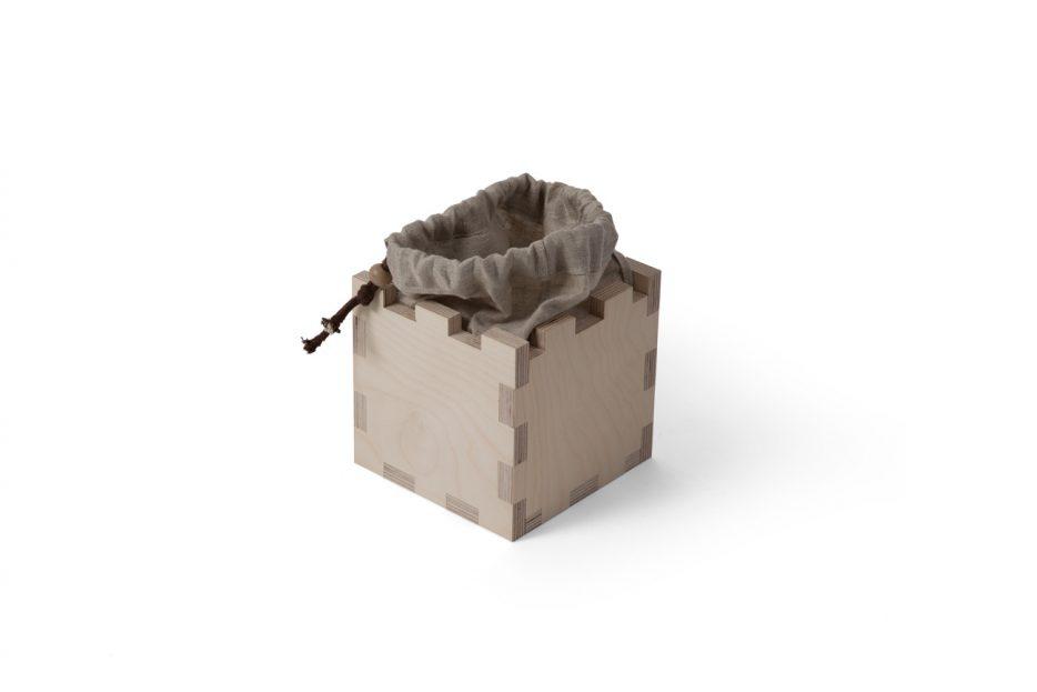 Urn kubus hout beerenberg stap 11