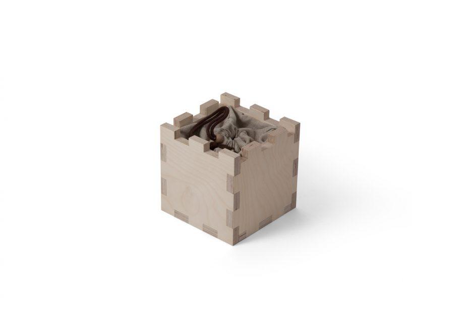 Urn kubus hout beerenberg stap 2