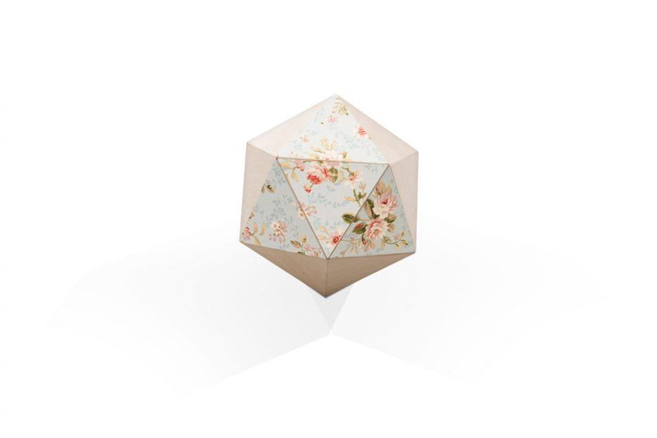 Urn polygoon ontwerp Bloemen Beerenberg