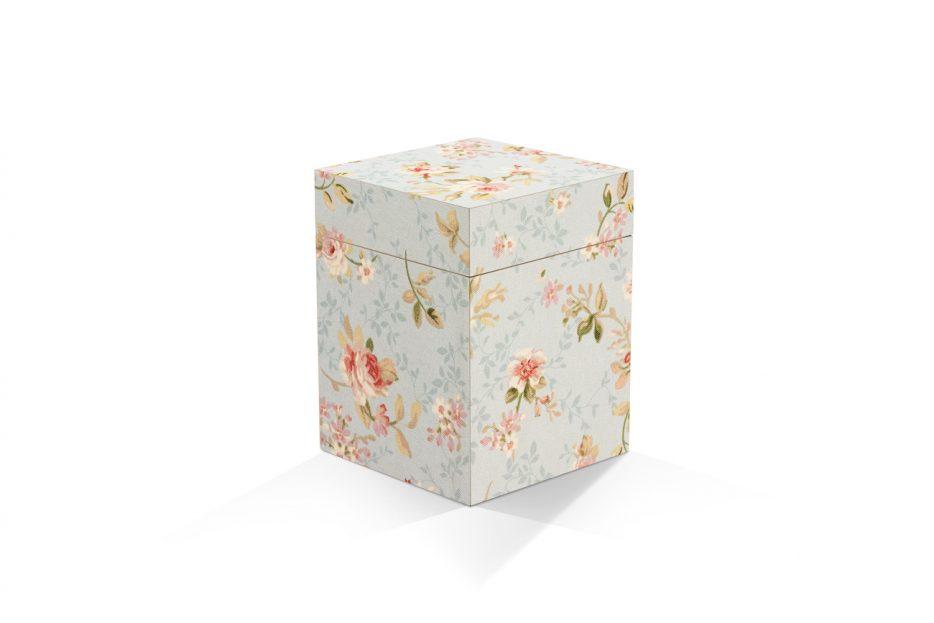urn kistje hout rozen decoratief Beerenberg
