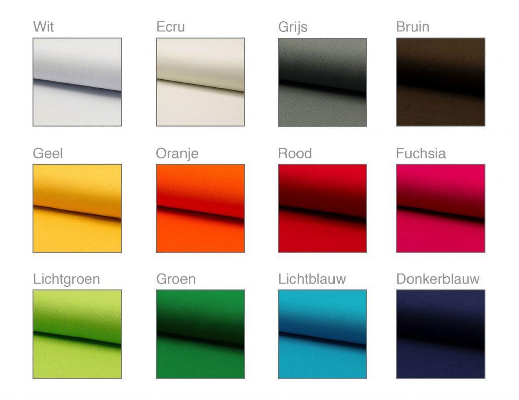 persoonlijke uitvaartkist binnenkleding kleuren