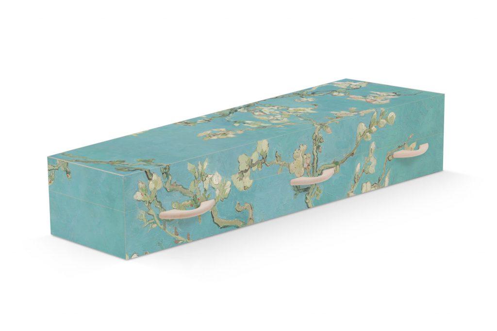 Uitvaartkist amandelbloesem van Gogh Beerenberg